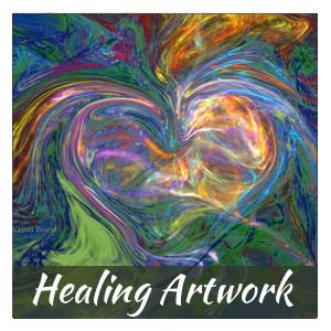 Energy in Form Healing Artwork